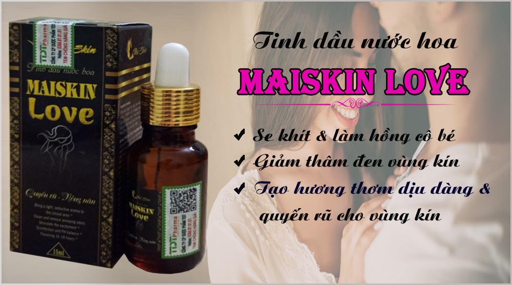 Tinh dầu nước hoa Maiskin